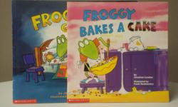 Titles * Froggy Goes to Bed * Froggy Bakes a Cake Like new.