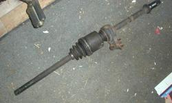 This axle is in good used condition. Comes as shown in the pic and the CV boot is good. Located west of Ottawa, near Almonte. A meeting in Kanata might be possible. Shipping is possible also, if you are not local to the Ottawa area. If you're reading this