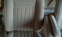 ChECK OUT MY OTHER ADS! FIRM ON PRICE. Im firm on price on these ford seats. Fully re-upolstered front seats. WE PAID $500+ a couple of years ago to get them done and never ended up installing them. Mint condition. Came from a 1991 Ford 250 ext cab. I