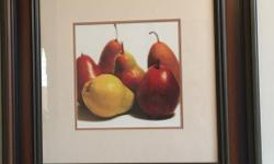 Fruit painting - solid wood finish Width 28.5 inch x 28.5 inch