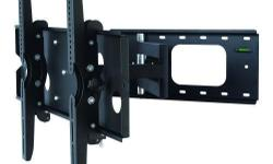 "Other Full Motion TV mount also available:Full-Motion Swivel Tilt 32"" - 63"" Wall mount LCD4091: $70 only Full-Motion Swivel Tilt 23"" - 37"" Wall mount LCD5003: $49.99 only This TygerClaw LCD4092BLK Full-Motion wall mount is designed for most 32"" to 63"""