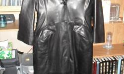 I have a Full Length Leather Jacket for sale it is a Medium Size .... Wore very little ..... Asking $100 ....