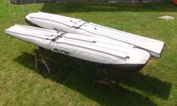 Full Lotus 1650 Floats. 15.5' Rudder set also available separately $650. Aluminum Spreaders & strut material available $300. This was for an Aeronca Chief project that didn't go forward. Floats are new and have never been in the water or sun. Note pricing