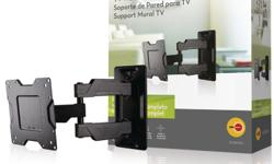 "This is a lightly used OmniMount OC80FM full motion wall mount. Mounts into a single stud easily and provides articulation of your TV in all directions. Able to accommodate TV's from 37 to 63"" in size and up to 80 lbs. Selling because we moved to a new"