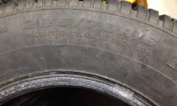 Full set of 4 (matching) Cooper Snow Tires 225/70 R16 tires for sale.  They are two years old. I am selling them because I purchased a new vehicle and they do not fit.