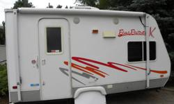 2006, 16' very light Fun Finder X in very good condition( new tires in 2016)asking 10.900 o.b.o.Fridge,freezer,microwave,stove, heater, water heater,A.C , C/D Radio, TV, Owning bathroom/shower, sleeps 3 adults+ 1 child,.very rarely find, best in the