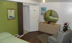 Large furnished basement with private bath for rent in private home immediately or Jan 1st.  We are located in the South Keys area. All inclusive (heat, hydro, water, internet, cable) Parking is extra at $50 per month if required.  Laundry and kitchen
