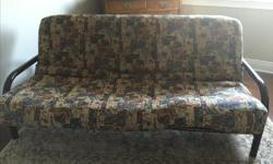 Beautiful and comfortable thick Futon Sofa Bed. Moving priced to sell.