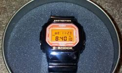 G-SHOCK PROTECTION WATCH EXCELLENT CONDITION $75.00