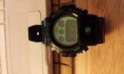 you will not be disappointed with these. they have great bright colors and will never let you down at night. they have a great back light and the back of the watch is branded with g shock. I can deliver to Barrie and Innisfil. buy more and get a better
