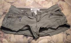 1. Army Green Shorts, Size 9 - $5 2. Light Jean Shorts, Size 9 - $5 3. Yellow Track Shorts, Size Medium - $3 4. Blue Track Shorts, Size Medium - $3 5. White Jean Shorts, Size 9 - $5 6. Dark Jean Shorts, Size 9 - $5   Or take all for $25   Check out my