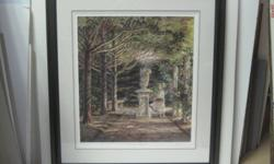 Garden Angel Trisha Romance sold out Limited Edition Print Framed comes with Certificate of authenticity 705 726 1579  $390.00