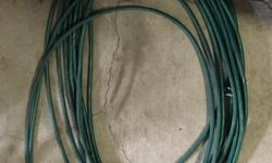 Approx 40 feet of hose; has been repaired in a couple of places.