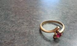 I am selling a ring that has a garnet birthstone in it (january). I no longer wear the ring- it is in great condition and make for a wonderful gift. I am looking to sell it for $75.00 obo as I bought it for $150.00. Email me if interested please only