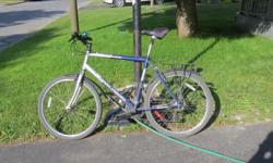 Used Gary Fisher Tarpon mountain bike. Just bought a hybrid and bike is in good condition. Please, email if interested.