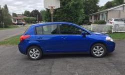 Make Nissan Year 2009 Colour Blue Trans Automatic kms 83000 FOR SALE: Blue 2009 Nissan Versa SL, excellent condition, price includes winter tires on rims. Recently put >$1000 to meet safety inspection; however, safety certificate expired 5 Aug 16. One