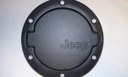 Gas door for newer Jeep. In great shape