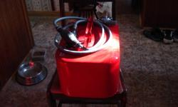I am offering a gas tank for a mercury ouboard motor. It has been repainted with new gas lines.I am asking 100 dollars firm. Call bill for more info. 705-743-0888. ask for bill