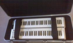 Brand new never used Fits 2 midi keyboards or 1 larger keyboard
