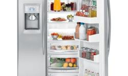See specs and photos in link below. Ice maker broken and small leak at bottom drawer, both fixable. Otherwise excellent condition. 6 years old. http://products.geappliances.com/appliance/gea-specs/PSDS3YGXSS