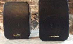 """Like new Type: Two Way Speakers: 5"""" Woofer 2"""" Tweeter Frequency Responce: 80-20000Hz Impedance: 4/8 ohmes Call Brian 250-514-7675"""