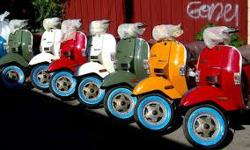 Just arrived into Canada and Derand is Ottawa's exclusive dealer. The world famouse Stella is made by Chicago's Genuine Scooter Company. Available in 5 colours, Slate Blue, Red, Avocado Green, Creme, and Dijon Yellow. I am taking pre-orders on these this