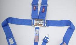 Expired Blue racing harness. Like new condition.