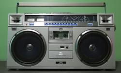 Ghettoblaster / Boombox. Hello, I'm from Calgary and I'm looking for your 1980's Ghettoblaster or Boombox. I will make you a good offer. JVC RC M70 JVC RC M90 Clairtone 7980 Sanyo MX 920 Sharp GF-777Z