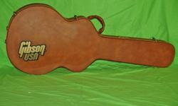 Beautiful Gibson hard case. Tel: 819-669-9232 For lot more item come to my web site by cliking the link in the ad. Thanks for looking Tel: 819-669-9232