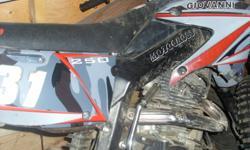 needs tlc runs well soild bike