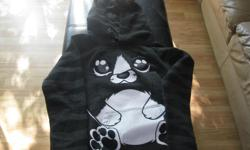 Adorable Girls Animal Sweatshirt Size - Medium Color - Dk Grey / White / Black Brand - Moto Street Wear ONLY $10 See all my other clothing ads.... Can meet in west end of ottawa (kanata) or pickup in Constance Bay
