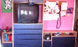 Paid over $1000 5 years ago great shape - includes wardrobe dresser 2 night stands and 2 bookshelves This ad was posted with the Kijiji Classifieds app.