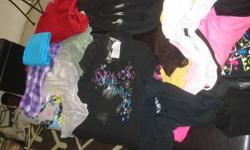 MANY  SHIRTS,  HOODIES  BOOTS BACKPAK  ETC    ALL FOR $30 GIRLS AGE  10-12   770 3222    PLUS ALL KIND OF JEANS TOO  LOOK AT OTHER ADS