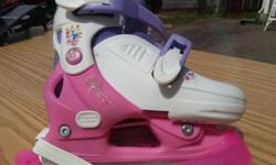 Disney Princess Ice Skates adjustable size J9, J10, J11, or J12. In excellent condition. Sell new for $40. Asking $20.