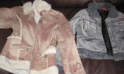 Selling girls fall jackets, $5.00 each, great condition, non-smoking house. Size 7-8.