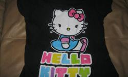 Girls HELLO KITTY short-sleeve top Size 6x Brand - Hello Kitty ONLY $5 can meet in west end of ottawa (kanata) or pickup in Constance bay