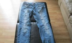 Girls blue jeans Size 3 Brand Ardene Worn only once or twice - great condition Can meet in west end of ottawa (kanata) or pickup in Constance Bay