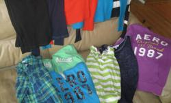 Girls lot of AEROPOSTALE All size X/S which includes: 4 long-sleeve tops 3 pull-over sweaters 1 sweatshirt 1 blue/jean plaid shirt 2 hoodies All 11 items for ONLY $30 (works out to be $2.72 per item) AWESOME price!!! You wont get this price anywhere