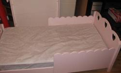 I have two pink wooden toddler beds for sale in great condition.  Asking $50.00 each.