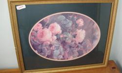 framed prints $5.00ea Roses - 18x14 Scape - 12x18