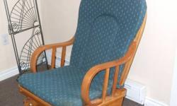 Glider rocking chair excellent condition $50.