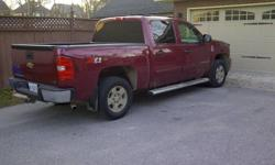selling my running boards off my gm 2007 Silverado Crew cab, there is absoultly nothing wrong with them i personally just likes the look of the truck with out them better.   perfect for the wife  or senior who cant get in your truck!!   willing to trade