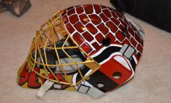 Hi my name is Chris and for 15 years I've been playing goal and designing my own mask. I know there are professional painters out there who charge thousands of dollars for their custom work, and believe me, it's probably worth every penny! But what about