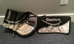 Blocker and Glove Junior $20 each
