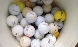 70 balls assorted brands and quality