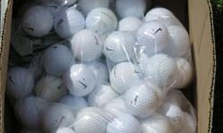 100 dozen name brand golf balls. Used but in very good condition . Not from the water. Asking 2.50 per dozen