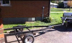 Trailer in good shape used to hold a boat good base for wut ever u want to build This ad was posted with the Kijiji Classifieds app.