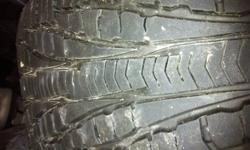 These are excellent in the winter! They are top of the line. Tread remaining is about 85%. Cost over $1200 new. Sold vehicle and do not need. Excellent deal at this price.