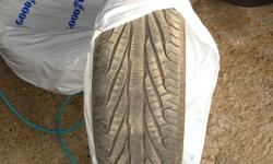 I have 2 Good Year Assuance Triple Treds 235-55R-17. Over 50% tread left. $50 OBO