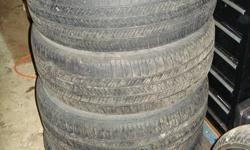 """Four Goodyear Eagle LS2's for sale.  Tread depth is 8/32"""", (1/4"""").  Great shape.  Even tread.  Nice tires.  $300 or make me an offer."""
